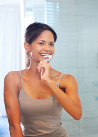 Brushing Teeth Crossroads Family Dental IN 46375-1360